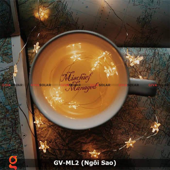 Dây đèn led trang trí mẫu hình ngôi sao GV-ML2 13