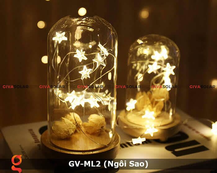 Dây đèn led trang trí mẫu hình ngôi sao GV-ML2 5