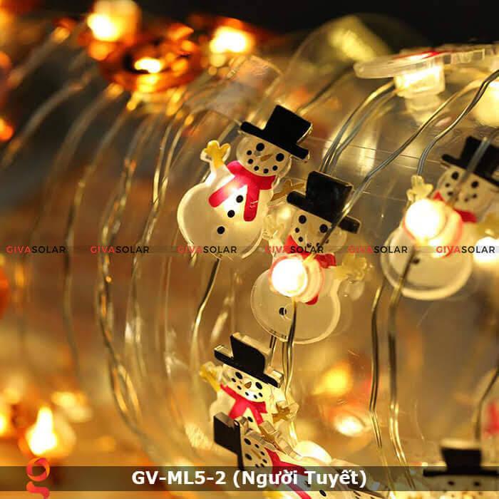 Dây đèn led trang trí Người Tuyết GV-ML5-2 1