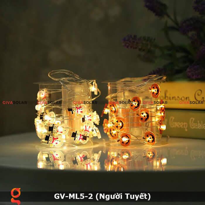 Dây đèn led trang trí Người Tuyết GV-ML5-2 2