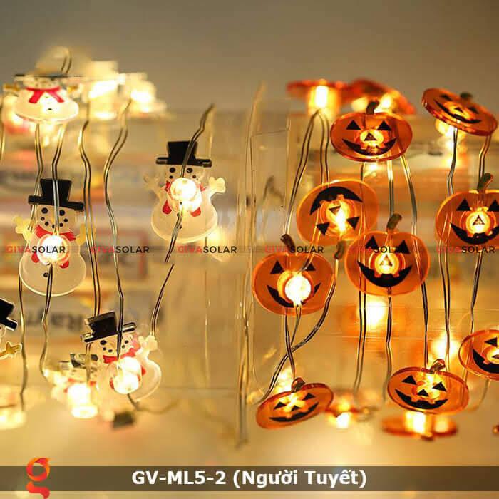 Dây đèn led trang trí Người Tuyết GV-ML5-2 4