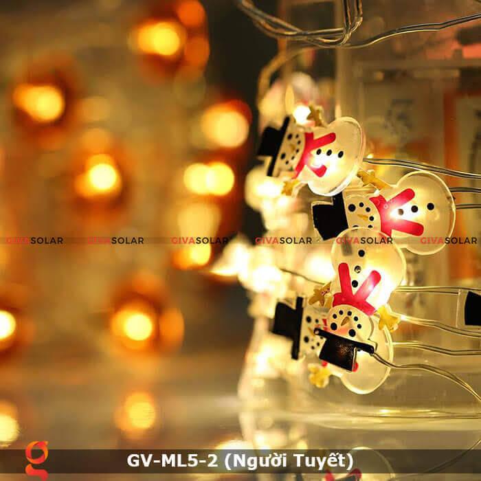 Dây đèn led trang trí Người Tuyết GV-ML5-2 5
