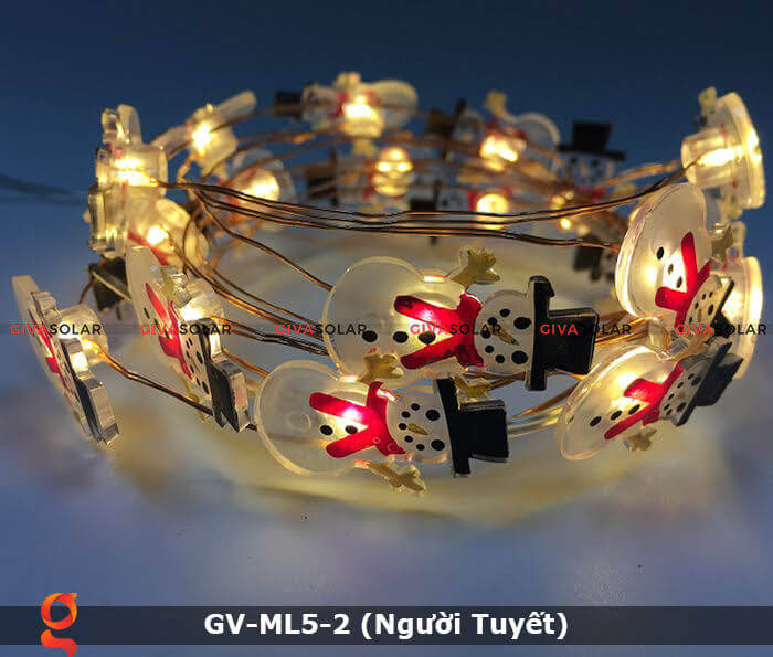 Dây đèn led trang trí Người Tuyết GV-ML5-2 6