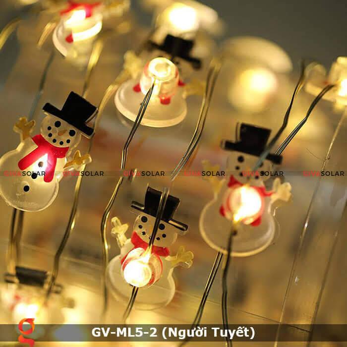 Dây đèn led trang trí Người Tuyết GV-ML5-2 7