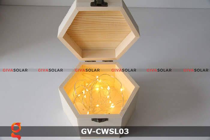 Dây led nhỏ gọn trang trí trong nhà, ngoài trời GV-CWSL03 2
