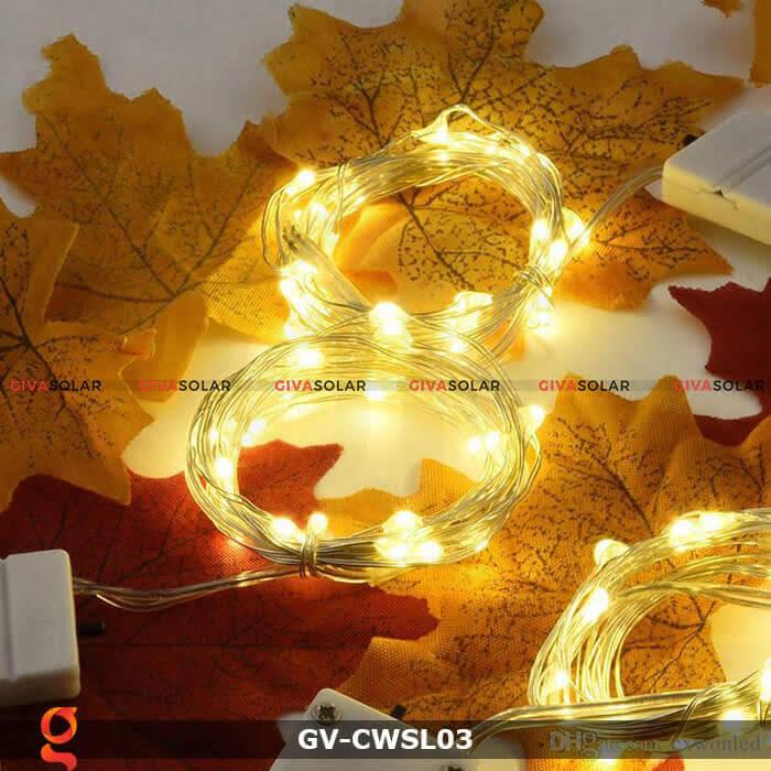 Dây led nhỏ gọn trang trí trong nhà, ngoài trời GV-CWSL03 6