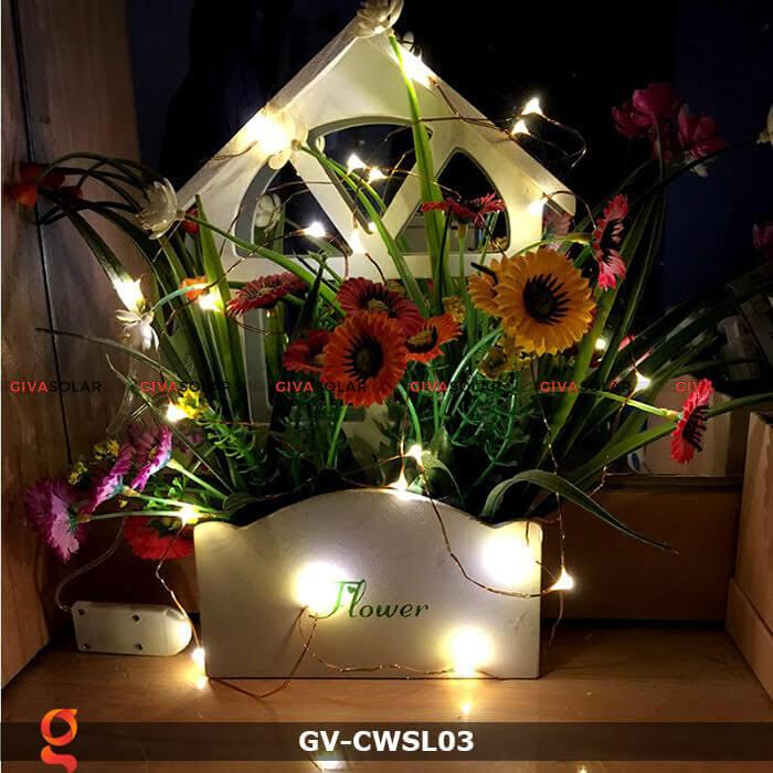 Dây led nhỏ gọn trang trí trong nhà, ngoài trời GV-CWSL03 7