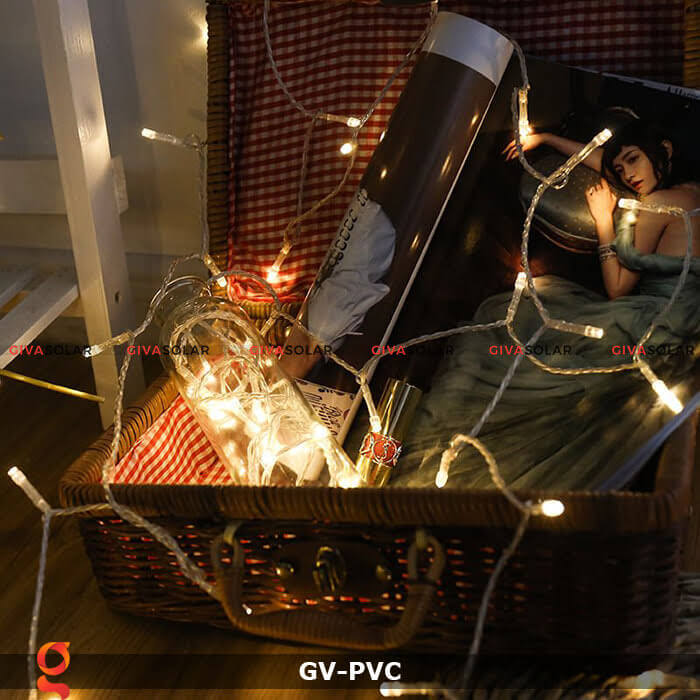 Dây led nhựa dẻo siêu bền, siêu sáng GV-PVC 10