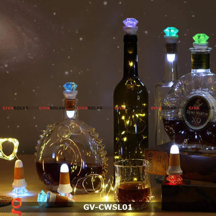 Dây led nút chai trang trí tiệc guầy Bar GV-CWSL01 1