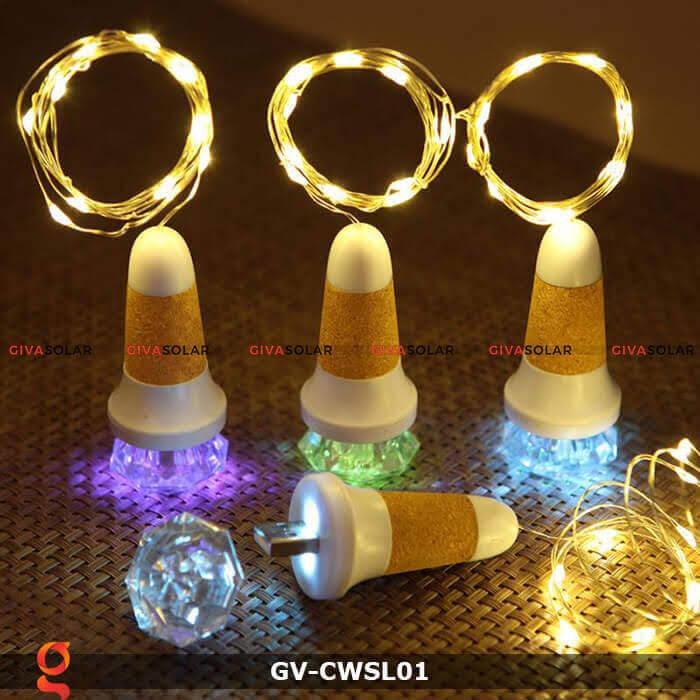 Dây led nút chai trang trí tiệc guầy Bar GV-CWSL01 7