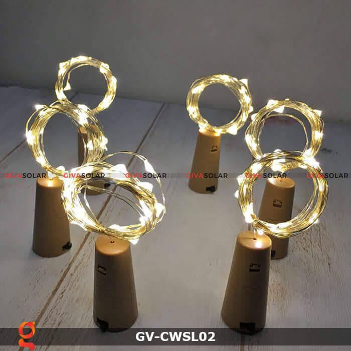 Dây led nút chai trang trí tiệc GV-CWSL02 10