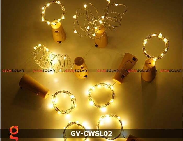 Dây led nút chai trang trí tiệc GV-CWSL02 5