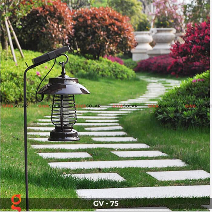 Đèn bắt côn trùng năng lượng mặt trời GV-75 10