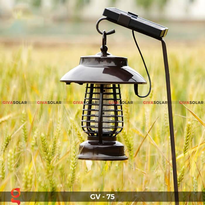 Đèn bắt côn trùng năng lượng mặt trời GV-75 11