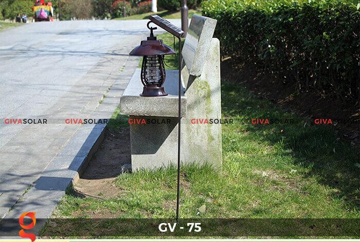 Đèn bắt côn trùng năng lượng mặt trời GV-75 12