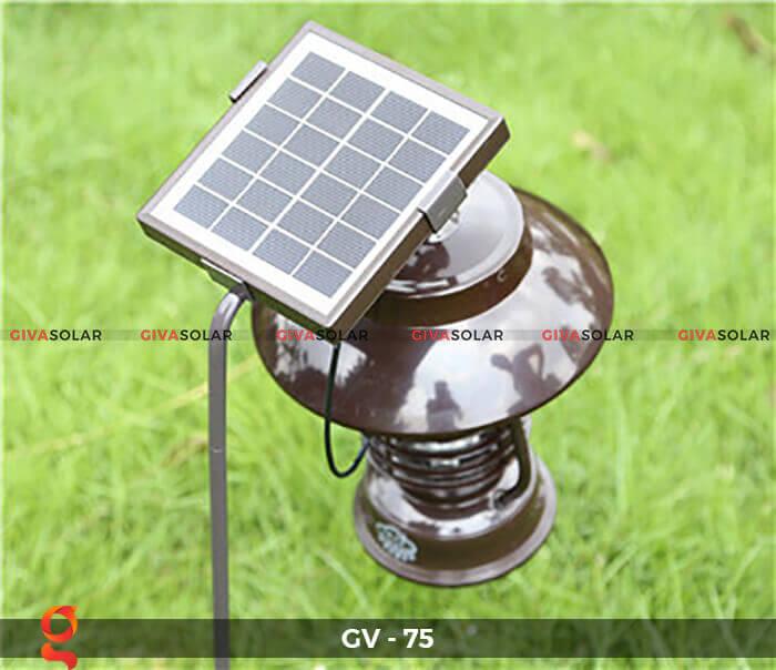 Đèn bắt côn trùng năng lượng mặt trời GV-75 13