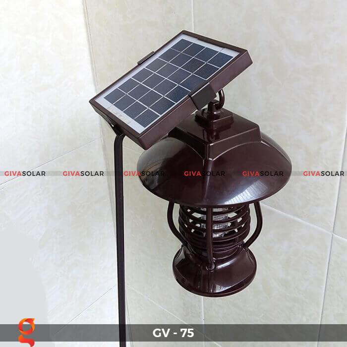 Đèn bắt côn trùng năng lượng mặt trời GV-75 16