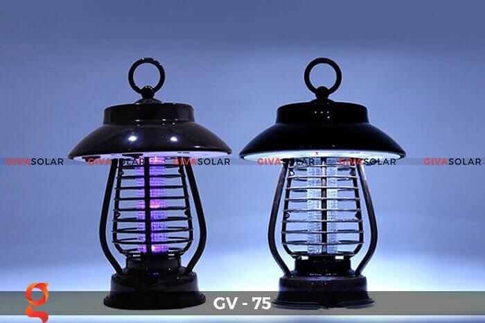 Đèn bắt côn trùng năng lượng mặt trời GV-75 2
