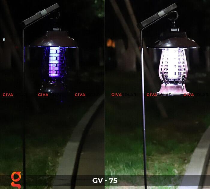 Đèn bắt côn trùng năng lượng mặt trời GV-75 3