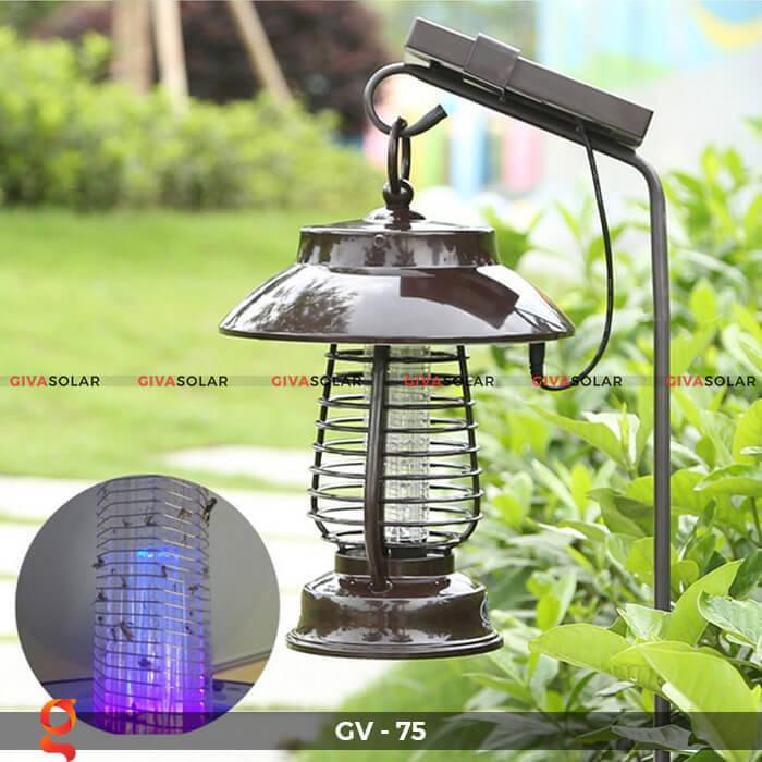Đèn bắt côn trùng năng lượng mặt trời GV-75 4