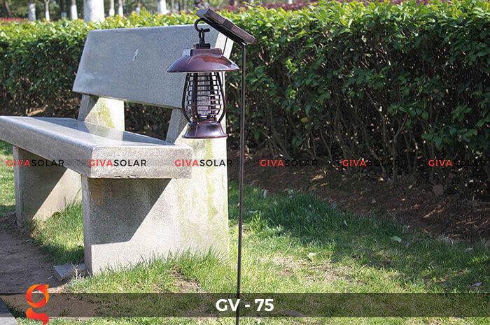 Đèn bắt côn trùng năng lượng mặt trời GV-75 7