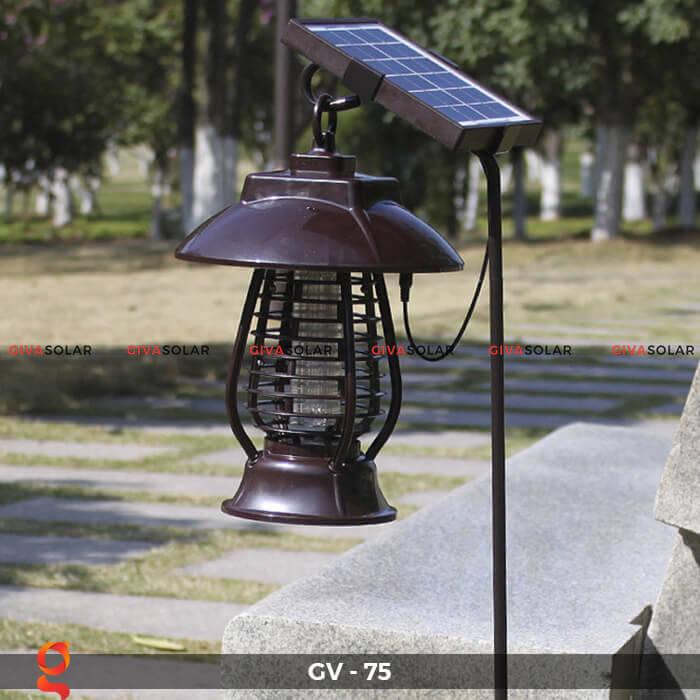 Đèn bắt côn trùng năng lượng mặt trời GV-75 8