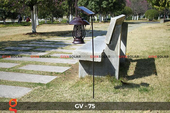 Đèn bắt côn trùng năng lượng mặt trời GV-75 9