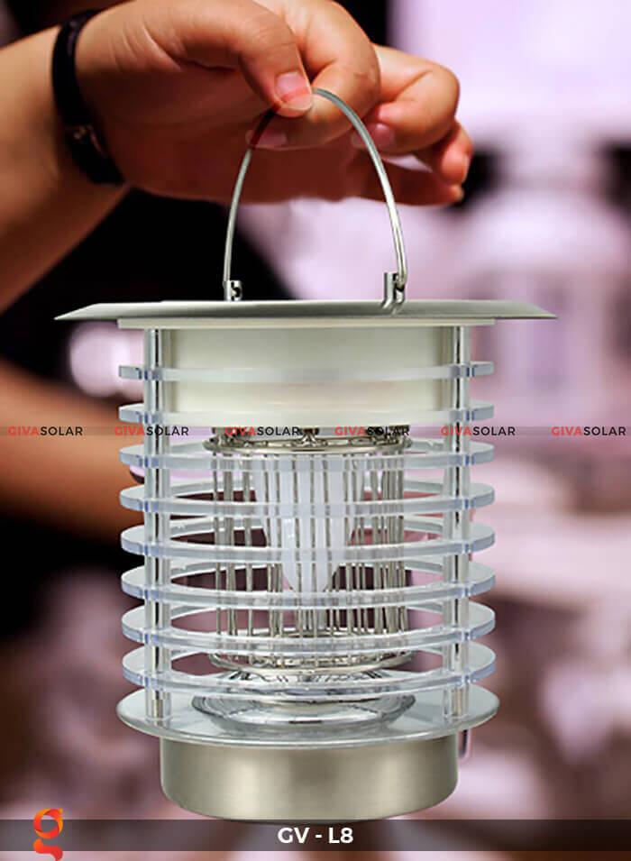 Đèn diệt côn trùng năng lượng mặt trời GV-L8 11