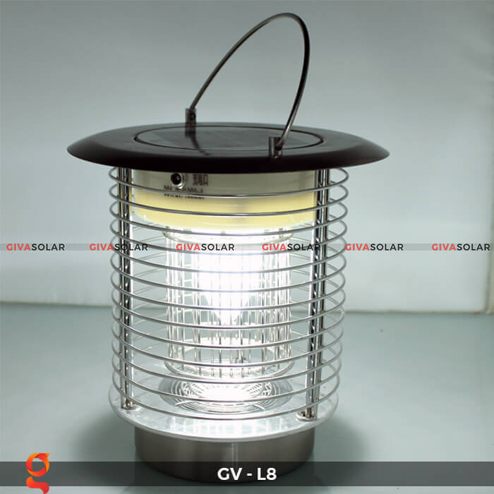 Đèn diệt côn trùng năng lượng mặt trời GV-L8 12