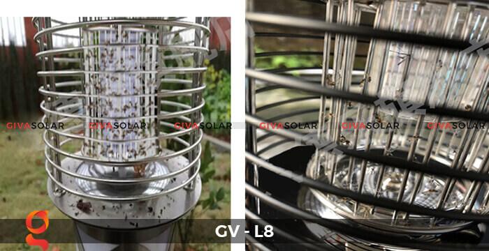 Đèn diệt côn trùng năng lượng mặt trời GV-L8 13