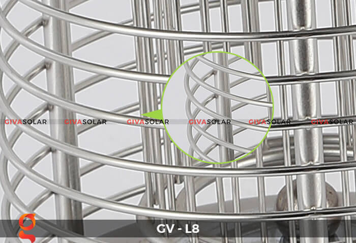 Đèn diệt côn trùng năng lượng mặt trời GV-L8 15