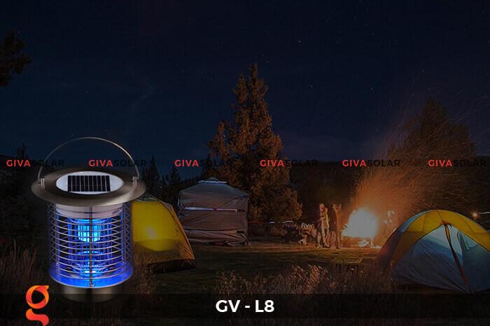 Đèn diệt côn trùng năng lượng mặt trời GV-L8 2