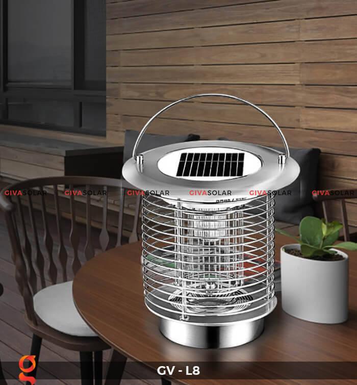 Đèn diệt côn trùng năng lượng mặt trời GV-L8 3
