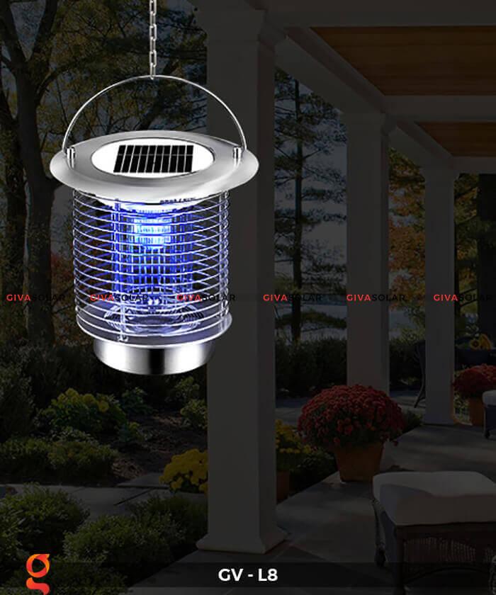 Đèn diệt côn trùng năng lượng mặt trời GV-L8 4