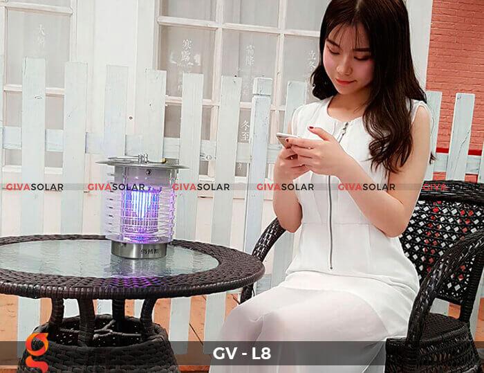 Đèn diệt côn trùng năng lượng mặt trời GV-L8 7