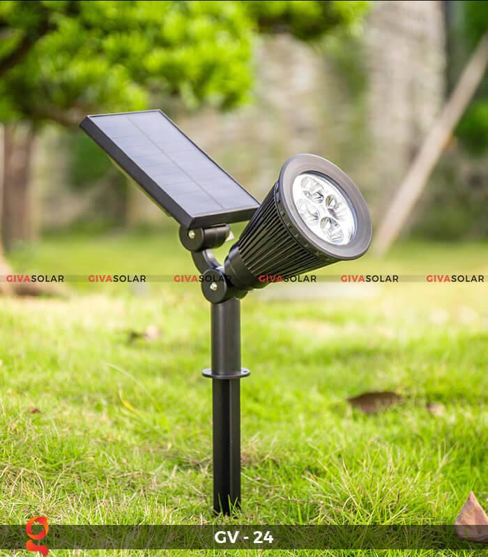 Đèn cắm thảm cỏ năng lượng mặt trời GV-24 2W 1