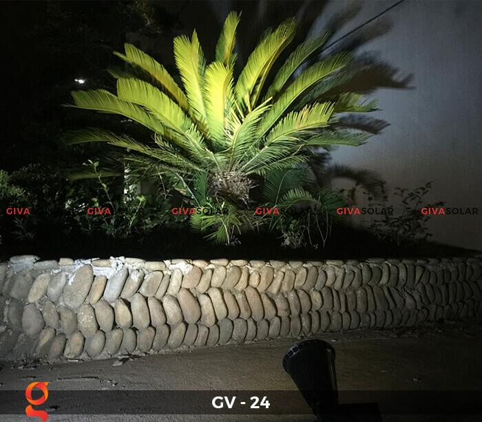 Đèn cắm thảm cỏ năng lượng mặt trời GV-24 2W 10