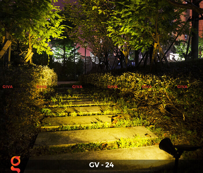 Đèn cắm thảm cỏ năng lượng mặt trời GV-24 2W 11
