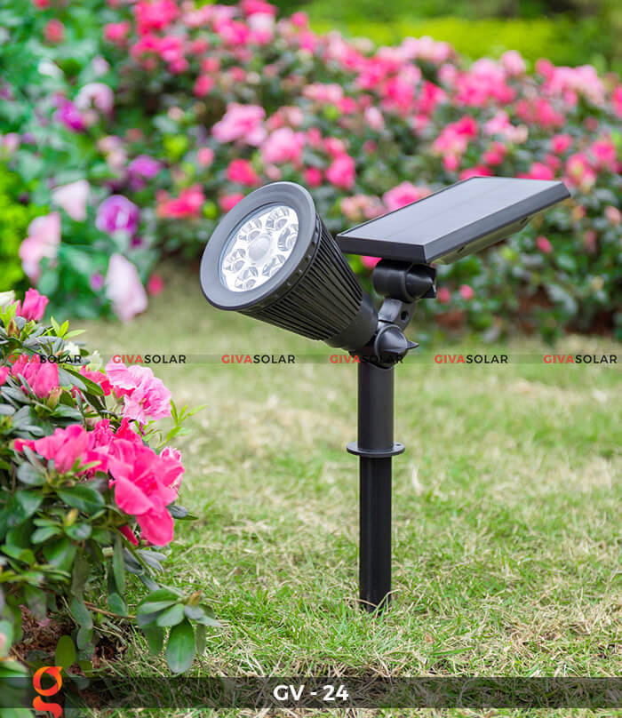 Đèn cắm thảm cỏ năng lượng mặt trời GV-24 2W 4