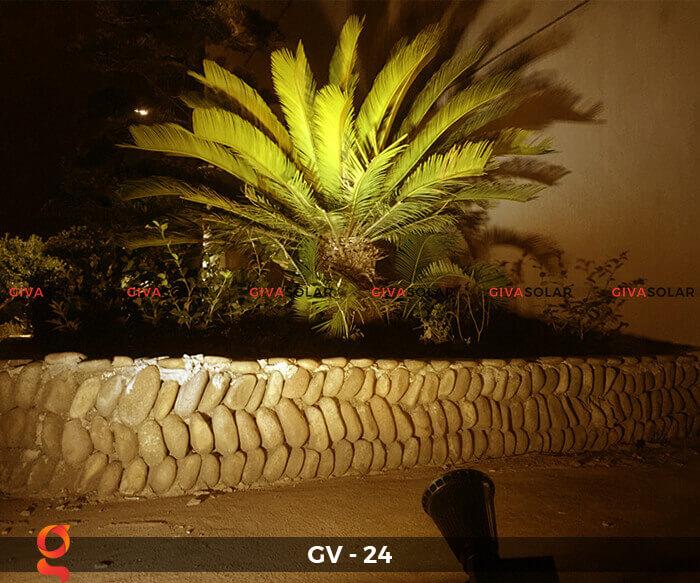 Đèn cắm thảm cỏ năng lượng mặt trời GV-24 2W 5