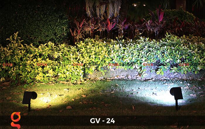 Đèn cắm thảm cỏ năng lượng mặt trời GV-24 2W 6