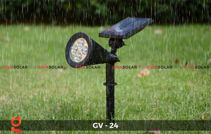 Đèn cắm thảm cỏ năng lượng mặt trời GV-24 2W 7