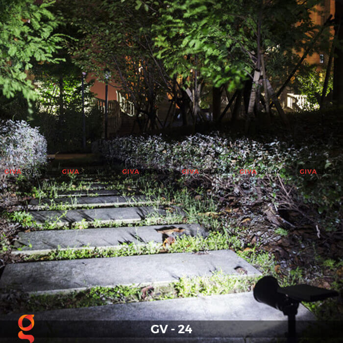 Đèn cắm thảm cỏ năng lượng mặt trời GV-24 2W 9