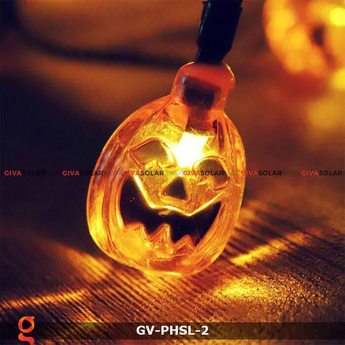 Dây đèn led bí ngô trang trí Halloween GV-PHSL-2 10