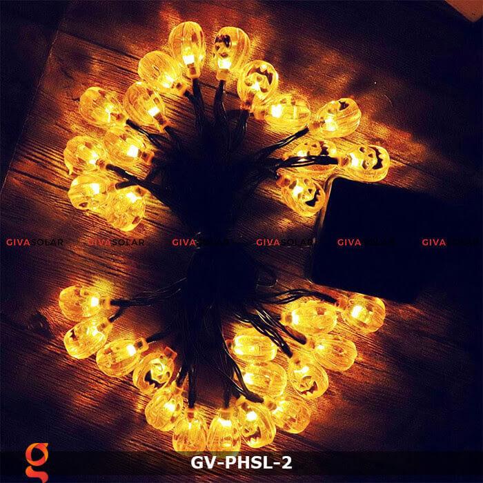 Dây đèn led bí ngô trang trí Halloween GV-PHSL-2 11