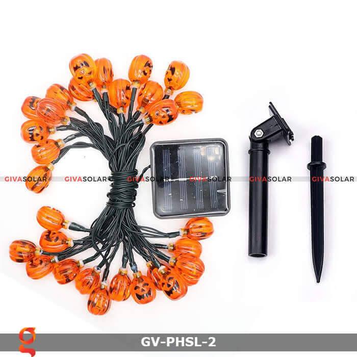 Dây đèn led bí ngô trang trí Halloween GV-PHSL-2 14