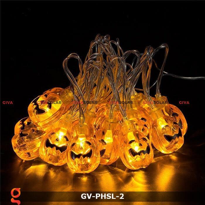 Dây đèn led bí ngô trang trí Halloween GV-PHSL-2 2