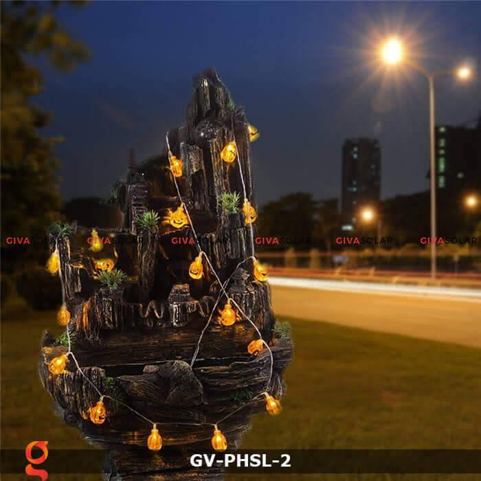 Dây đèn led bí ngô trang trí Halloween GV-PHSL-2 3