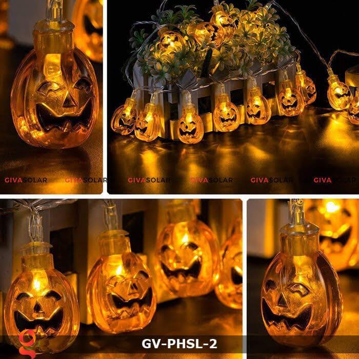 Dây đèn led bí ngô trang trí Halloween GV-PHSL-2 6