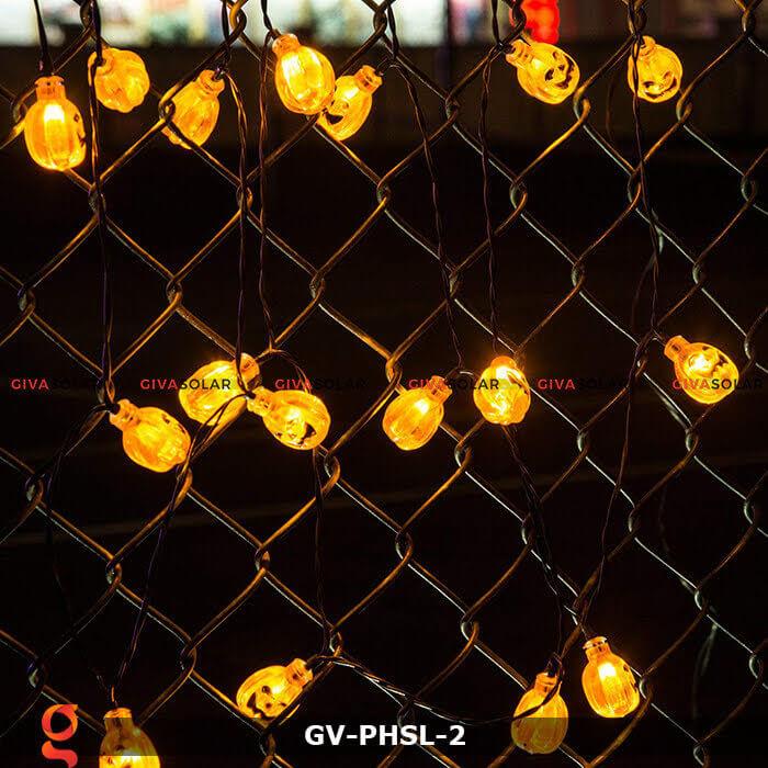 Dây đèn led bí ngô trang trí Halloween GV-PHSL-2 9